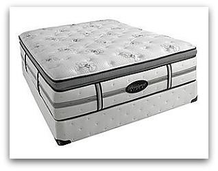 The Leyla plush pillowtop model.