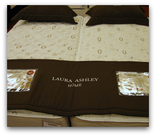 Comfort Solutions Laura Ashley Twin beds at Sleepys.