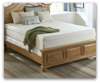 The Sealy Comfort Series Redwood Lake memory model.