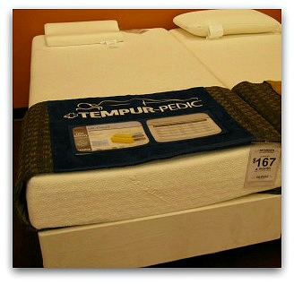 The Tempurpedic Cloud in a Twin size.