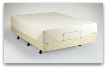 The Tempurpedic Contour Signature front left angle.
