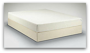The Tempurpedic Simplicity model in a medium firmness level.