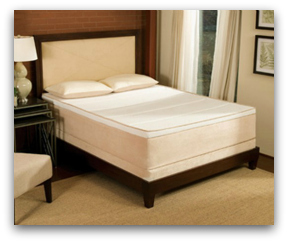 The Tempurpedic Allura bed on a nice frame.