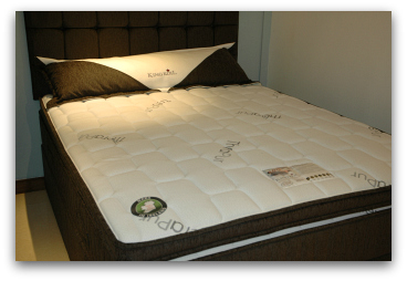 King Koil Extended Life Plus mattress set.