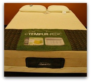 The Tempurpedic Rhapsody front end.